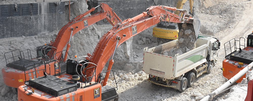 Excavation Rental
